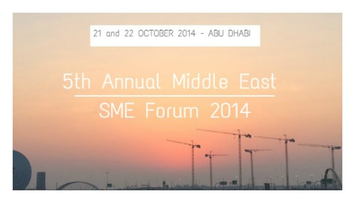 5th Annual Middle East SME Forum October 2014
