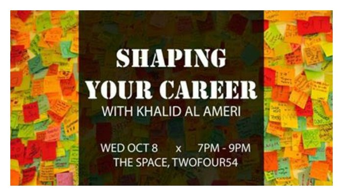 Shaping your career at THE SPACE Abu Dhabi