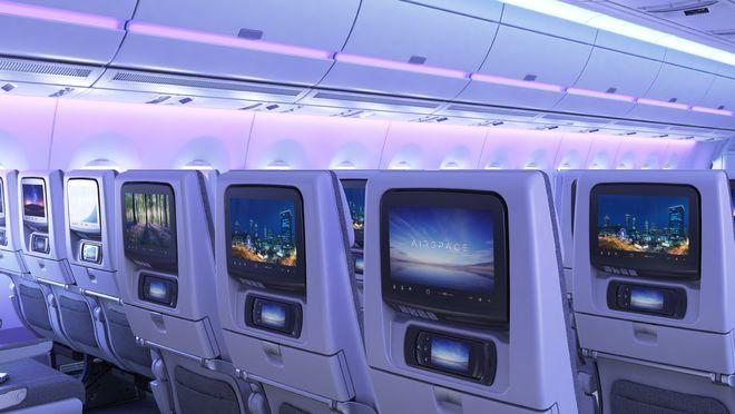 A350 XWB interior
