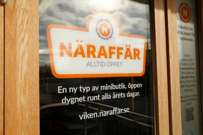 Naraffar store in Sweden