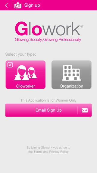 Glowork app
